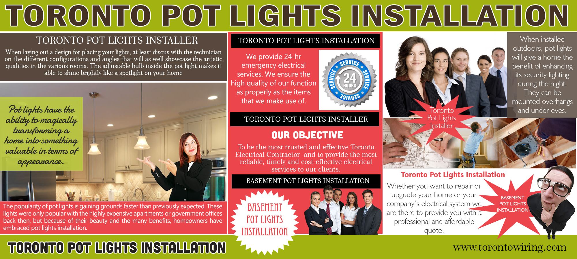 Toronto Pot Lights Installation